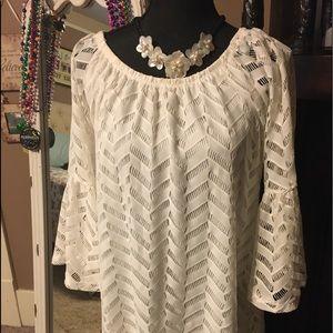 White lace like Mini dress
